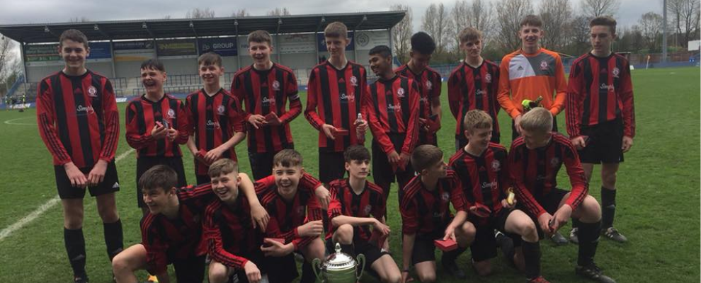 Under 15 Cup Winners