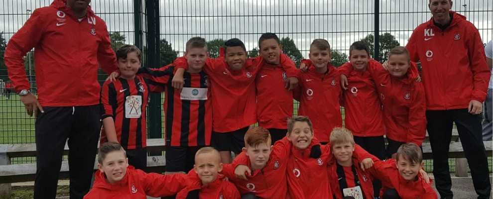 U11s Reds  Match report vs. West End Lions (10th February 2018)