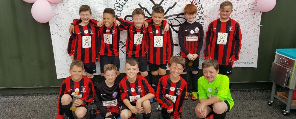 Chadderton FC Juniors under 11s Reds