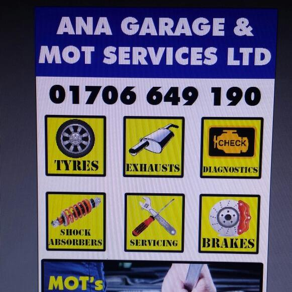 A.N.A Garage and MOT Services LTD